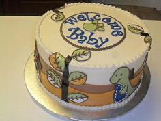 Baby Shower Themes Dinosaurs ~ Dinosaur baby shower themed cake cake babies and babyshower