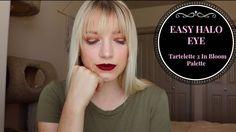 EASY HALO EYE TUTORIAL | Tartelette 2 In Bloom Palette | Kendra Cus