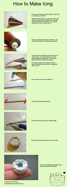 How to Make Icing - Fun Tip Friday #22 by *SmallCreationsByMel on deviantART