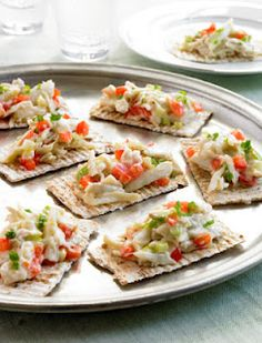 Renew Health Coaching: Crab Salad Wasa