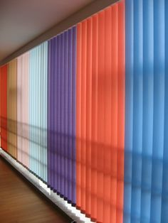 Image result for fronted glass vertical blinds