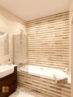 Фото дизайн интерьера ванной комнаты из проекта «Дизайн проект 1-комнатной квартиры 70 кв.м. в ЖК «Риверсайд», современный стиль»