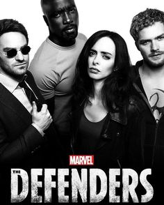 New poster of Netflix Defenders #DEFEND #Daredevil #JessicaJones #LukeCage #IronFist