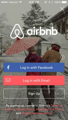 Airbnb - great Travel accommodation app Internationally ... now newly updated and customized for tablets.
