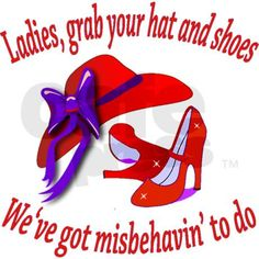 Red Hat Society Clip Art Black And White Pictures to Pin on . Red Purple, Red And Pink, Red Hat Club, Hat Quotes, Red Hat Ladies, Wearing Purple, Red Hat Society, Hat Crafts, Royal Red