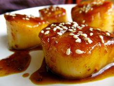 So Freakin' Delicious!: Honey Garlic Scallops...