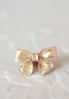 Everlasting Bow Ring   Modern Vintage Jewelry