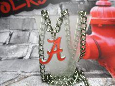 College  Necklace Crimson Tide by joolrylane on Etsy, $28.00
