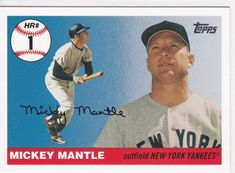 2006 Topps Mantle Home Run History Mickey Mantle New York Yankees Baseball Card for sale online New York Yankees, Yankees Fan, Evil Empire, Baseball Cards For Sale, Run 1, Mickey Mantle, Photo Cards, Running, History