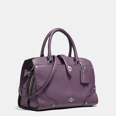 COACH Designer Handbags | Mercer Satchel 30 In Grain Leather $395