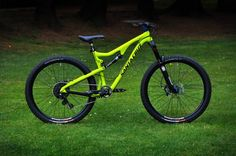 - custom bike from bikeinsel.com -  #SantaCruz #Bronson #Bikeinsel Santa Cruz Bronson, Custom Bikes, Cycling, Bee, Bicycle, Yellow, Biking, Honey Bees, Bike
