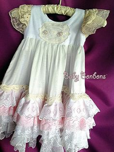 203d62c919 Luxurious Valentine s night gown vintage lace heirloom flower girl gift  child nightgown and robe-peignoir set
