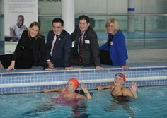 An award-winning project that encourages people living with dementia to continue to enjoy the calming benefits of swimming is being rolled out in Hackney. Swimming Benefits, Living With Dementia, Water Well, Alzheimers, Calming, Encouragement, Therapy, Wellness, Health