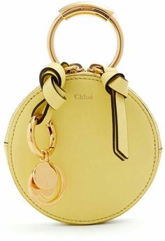Rely on Chloé for simply chic accessories, CHLOÉ Round mini leather coin purse Luxury Bags, Luxury Handbags, Fashion Handbags, Purses And Handbags, Fashion Bags, Designer Handbags, Coin Purses, Chloe Handbags, Ladies Handbags