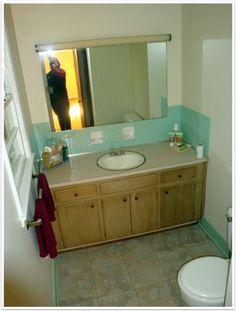 Bathroom Makeovers For Less my $150 bathroom makeover! | bathroom makeover | pinterest