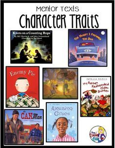 Character Traits Mentor Texts: So many ways to teach character traits. Read about it on this very practical post. Reading Lessons, Reading Activities, Reading Skills, Teaching Reading, Teaching Ideas, Kids Reading, Guided Reading, Teaching Character Traits, Character Education