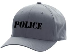 Embroidered Flexfit POLICE Low Profile Cap