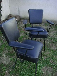 Banquettes and vintage on pinterest - Fauteuil de coiffeur vintage ...