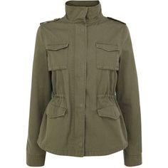 OASIS 4 Pocket Utility Jacket #fashion