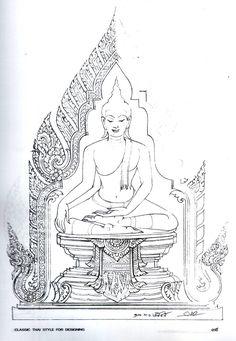 อยากได้ภาพวาดหัวพยานาค ครับ - Pantip Muay Thai Tattoo, Thai Decor, Thai Pattern, Thailand Art, Buddha Tattoos, Vietnam, Esoteric Art, Buddha Art, Thai Art