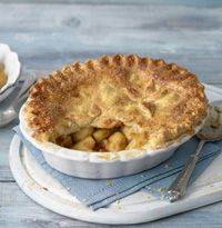 Caramel apple pie recipe by Dan Lepard - hellomagazine.com