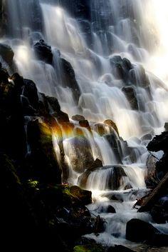 Ramona Falls, Oregon 2 by Toadly fly, via Flickr