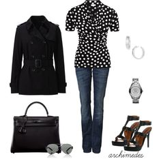 Polka Dots, created by archimedes16 on Polyvore