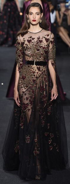 Elie Saab, fall 2016 Couture