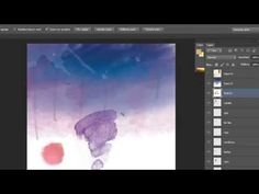 Tutorial Photoshop efecto acuarela/watercolor by @ildefonsosegura - YouTube