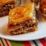 Baklava - hopefully the recipe for me
