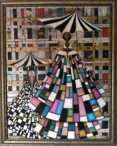 Saatchi Online Artist: alasdair Macdonald; Oil, Painting Stained Glass Dream coat