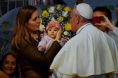 Pope Francis visits the hospital St. Francis of Assisi of the Providence