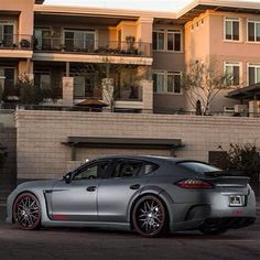 Porsche Panamera Turbo - I dont care what people say, this would be the super car I would buy if I wanted a four door.