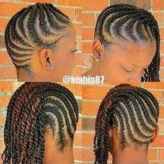 braided hairstyles for black women The shorter layered twists look great, it's a perfect example of modern easy protective hairstyles. Super cute and you can. Braided Hairstyles For Black Women Cornrows, Twist Braid Hairstyles, African Braids Hairstyles, Black Women Hairstyles, Easy Hairstyles, Protective Hairstyles, Protective Styles, Girl Hairstyles, Black Girl Braids