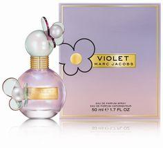 New! Marc-Jacobs-Violet # Top notes: bergamot; Heart: lily, violet; Base: vanilla, patchouli