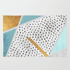Geometric forms Rug