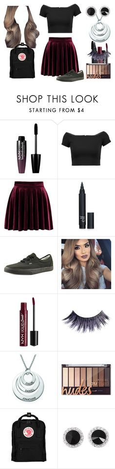 """Rachel Kennedy Cooper"" by shestheman01 ❤ liked on Polyvore featuring NYX, Alice + Olivia, Forever 21, Vans, Manic Panic NYC and Fjällräven"