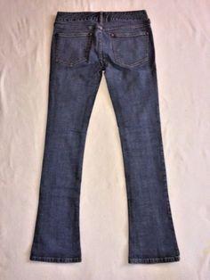 Free People Vintage Jeans - Size 27 x 32 Skinny Boot Cut Medium Wash #FreePeople #BootCutSkinny