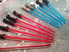 Glass Star Wars Lightsaber style dabber by TheWitchAndTheWolf, $11.99 #Dabs #dabber #dab