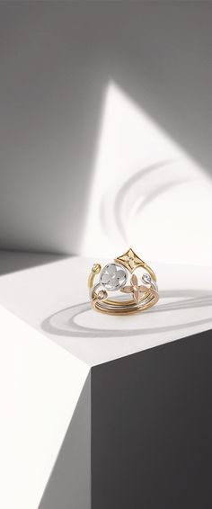 For the woman who's more than meets the eye: the Louis Vuitton Monogram Fine Jewelry Collection