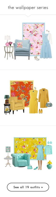 """""""the wallpaper series"""" by milliemarie ❤ liked on Polyvore featuring Untold, Seaman Schepps, Monsoon, Kate Spade, Dorothy Perkins, ALDO, Devon Leigh, MaxMara, Chloé and PBteen"""