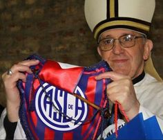 Pope Francis, the Die-hard Soccer Fan! A fun story about a soccer club in Argentina thrilled to have their biggest fan become Pope.