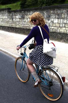 A Vintage Bike Ride In France | Bike Pretty                                                                                                                                                      More