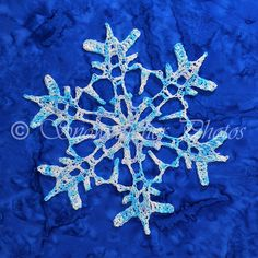 Tons of crocheted Snowflakes