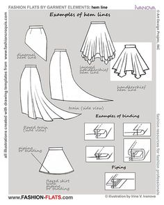 hemline types - Google Search