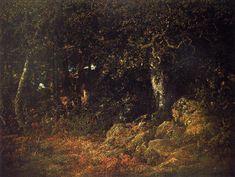 Théodore Rousseau - Le chêne dans les rochers