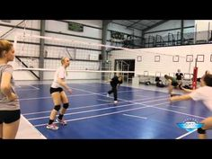 AVCA Video Tip of the Week: A Drill to Improve Ball Control - YouTube