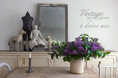 Vintage by Nina A Divine Mess In Stock by parisianfleamarket