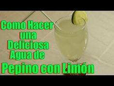 Agua de Pepino con Limón | Casayfamiliatv ** Casayfamiliatv.com
