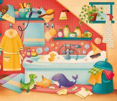 Gaia Bordicchia Illustrations: Où est caché mon doudou?